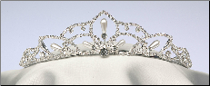 A Crown with touch of pearls