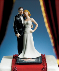 "Hollywood Glamour Couple ""Stars for a Day"" Figurine NEW"