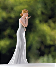 NEW Bride Blowing Kisses Figurine