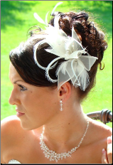Bridal Feather Hair Fascinator