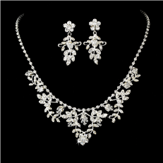 Beautiful Swarovski Necklace Earring Set
