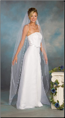 Floor Length Bridal Veil