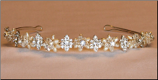 T765 Tiara In Gold or Silver