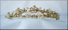T822 Tiara In Gold or Silver