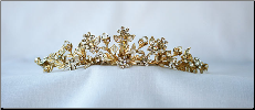 T823 Tiara In Gold or Silver