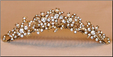 TC771 Tiara in Gold or Silver
