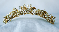 TC824 Tiara in Gold or Silver