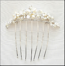 VC103 Wedding hair comb
