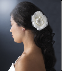 White Bold Bridal Flower