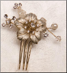 Silver or Gold Hair pin