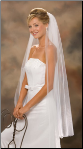 Cut Edge, Knee length veil
