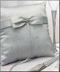 Platinum By Design Square Ring Pillow