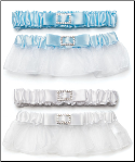 Classic garters with buckle