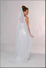Chiffon Wedding Veil