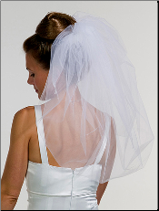 Wedding Bubble Veil