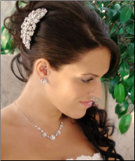 Glamour Goddess Crystal Irridescent Barrette