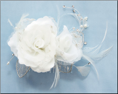 Hair wedding Flower FL203