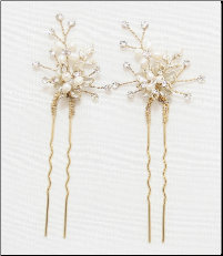 HP651 in Gold Hair Accessories
