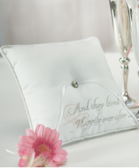 Fairy Tale Dreams Square Ring Pillow
